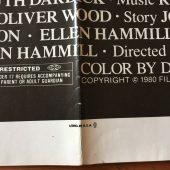 Don't Go In The House (1979) Original Movie Poster One Sheet Joseph Ellison Horror Thriller