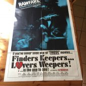 Finders Keepers Lovers Weepers (1968) Original Movie Poster One Sheet Russ Meyer