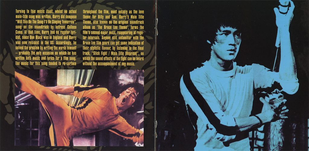Game of Death Original Soundtrack Recording by John Barry ...