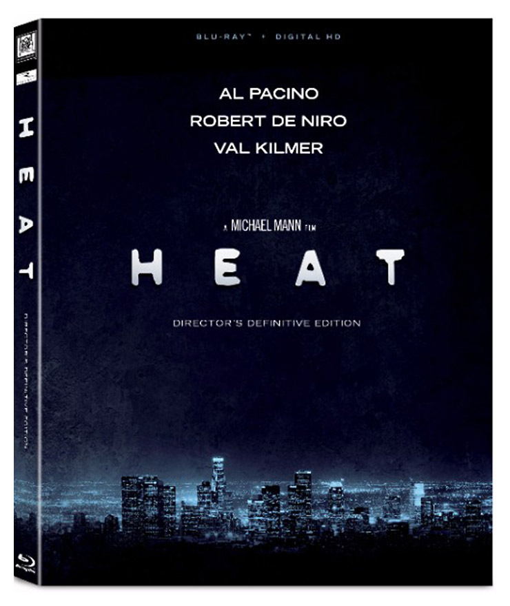 Heat: Director's Definitive Edition Blu-ray with Slipcover