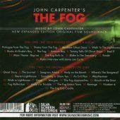 John Carpenter's The Fog Original Motion Picture Soundtrack Expanded Edition 2-Disc Set