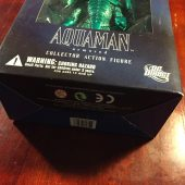 DC Direct Justice League Series 7 Aquaman Armored Collector Action Figure Designed by Alex Ross