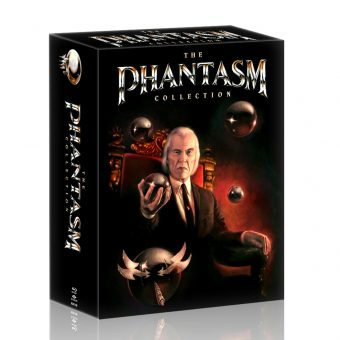 The Phantasm Collection Special Edition Boxset with Collectible and Reversible Poster