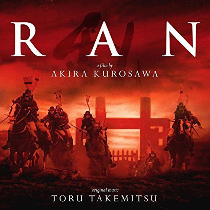 Akira Kurosawa's Ran Original Motion Picture Soundtrack Music Toru Takemitsu