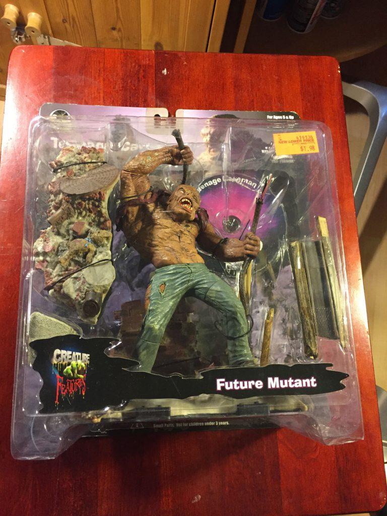Stan Winston Creatures: Teenage Caveman Future Mutant (2001) Action Figure