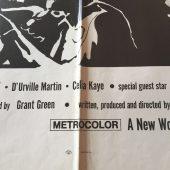 The Final Comedown (1972) Original Movie Poster One Sheet Blaxploitation Action Billy Dee Williams