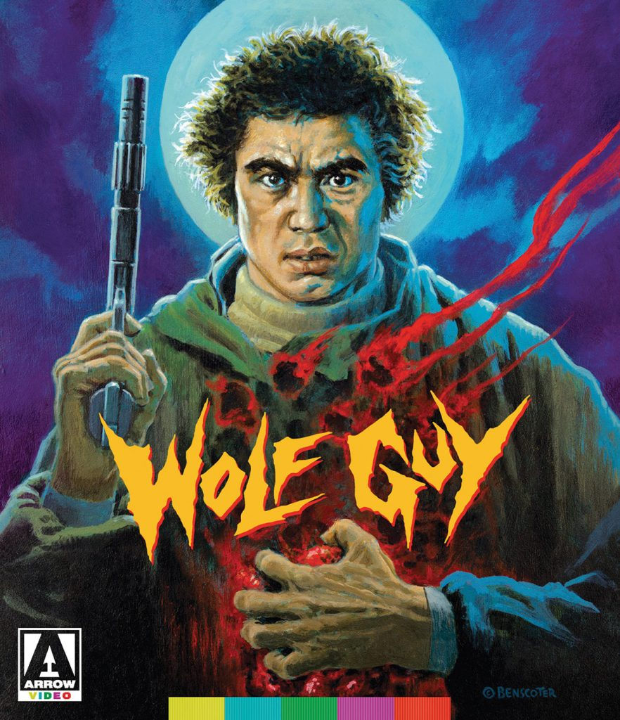 Wolf Guy 2-Disc Special Edition Sonny Chiba Action Thriller Blu-ray + DVD [Arrow Video]