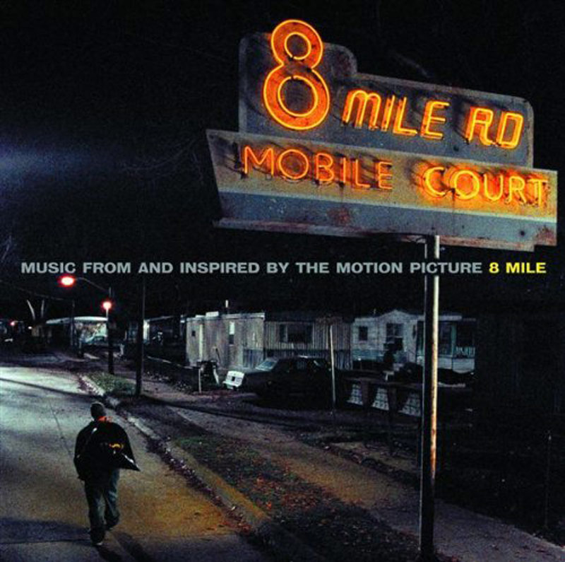 8 Mile Original Soundtrack Album CD Music From and Inspired by the Motion Picture
