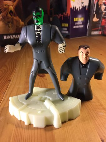 Batman Beyond Burger King Kids Meal Blight Figure #1 Toy (2000)