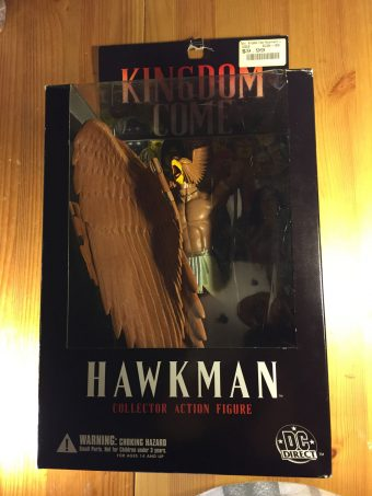DC Direct Kingdom Come Hawkman Collector Action Figure Alex Ross & Mark Waid
