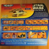 Star Wars Micro Machines Trade Federation Droid Starfighter Die Cast Galoob Ship (1999) Star Wars: Episode I The Phantom Menace