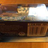 Star Wars Micro Machines Trade Federation Droid Starfighter Die Cast Galoob Ship (1999) Star Wars: Episode I The Phantom Menace