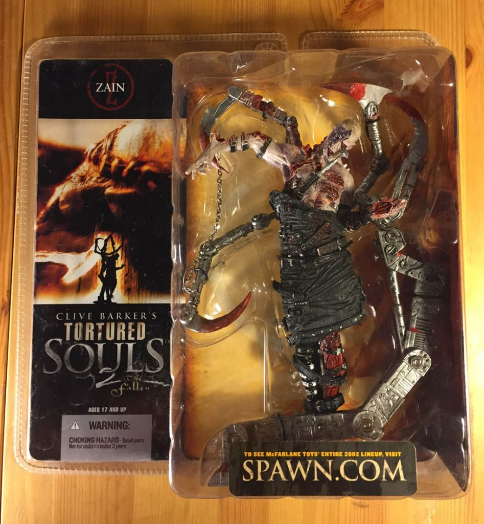 McFarlane Toys Clive Barker's Tortured Souls 2 The Fallen Zain (2002) Action Figure