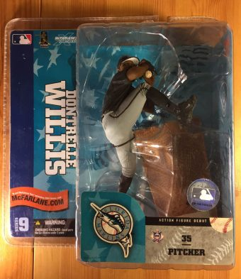 McFarlane Toys SportsPicks Florida Marlins Dontrelle Willis Series 9 Action Figure (2004)