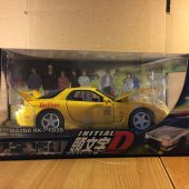 Jada Toys Initial D Mazda RX-7 FD3S 1:24 Scale Die Cast Metal Model Car (2004)