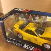Jada Toys Initial D Mazda RX-7 FD3S 1:24 Scale Die Cast Metal Model Car (2004)
