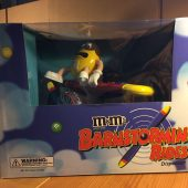 M&M's Brand Chocolate Candies Barnstorming Rides Dispenser Collectible (2008)