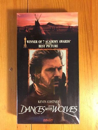 Kevin Costner's Dances With Wolves VHS New Sealed