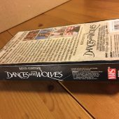 Kevin Costner's Dances With Wolves VHS New Sealed