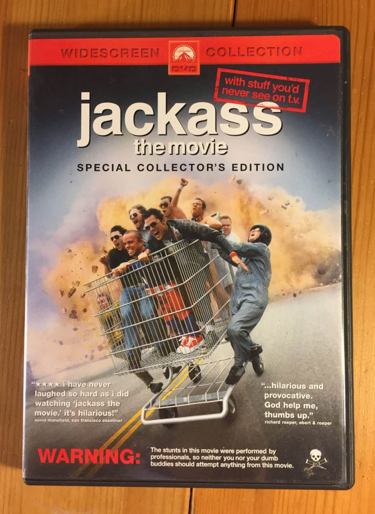 Jackass The Movie Widescreen Special Collector's Edition DVD