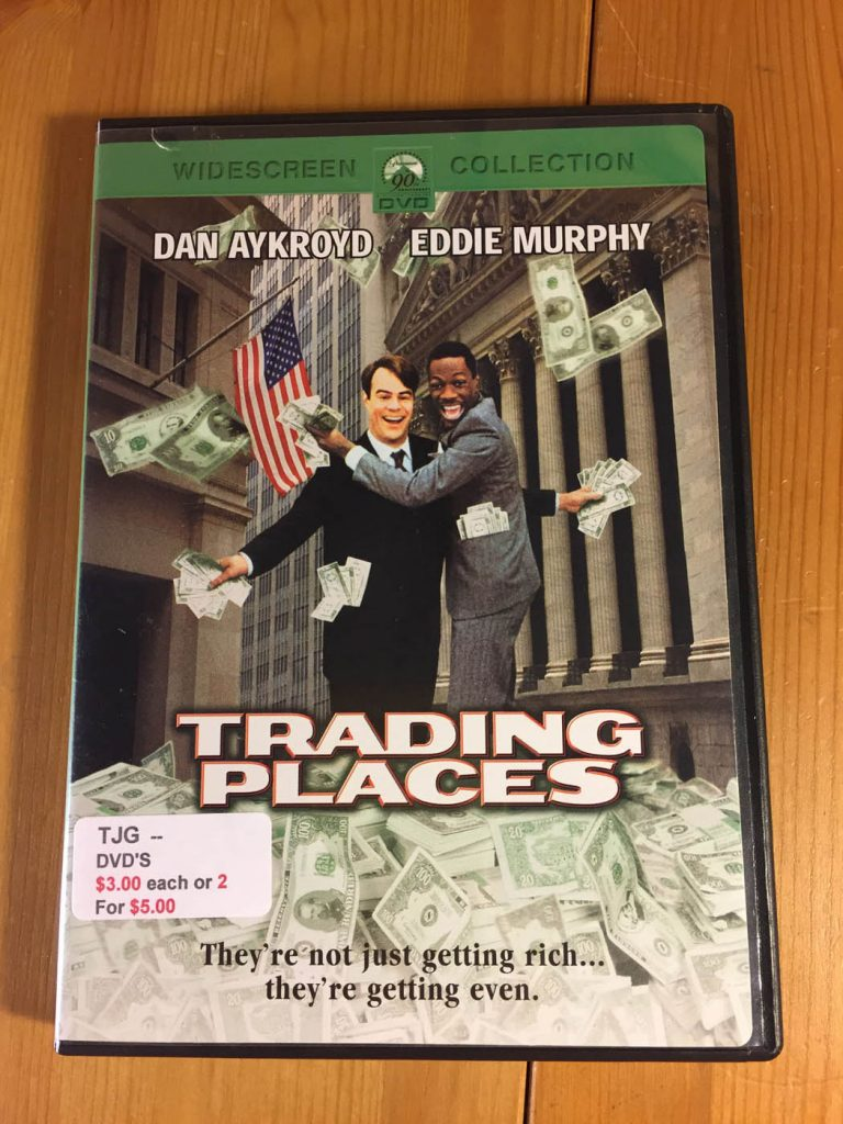 Trading Places DVD Eddie Murphy Dan Aykroyd Comedy Classic