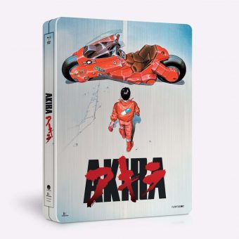 Akira Movie Limited Collector's Steel Case Edition with 32-Page Booklet Funimation