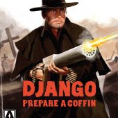 Django Prepare A Coffin Arrow 2-Disc Special Edition Blu-ray + DVD Combo Set Spaghetti Western