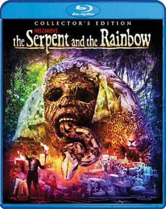 The Serpent and the Rainbow Collector's Edition Blu-ray with Slipcover
