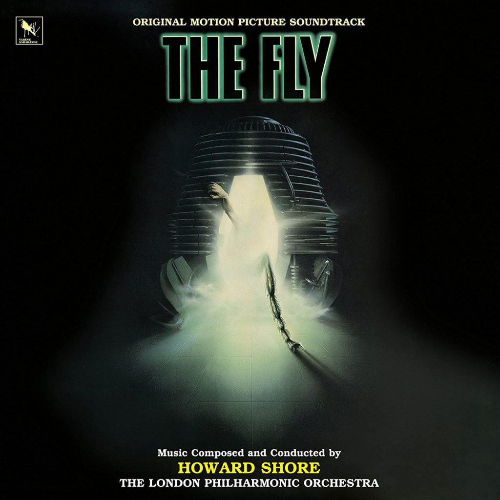 The Fly Original Soundtrack Album Limited Edition Lenticular 3D Cover
