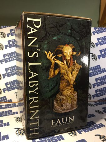 RARE Gentle Giant Pan's Labyrinth Faun Collectible Mini Bust 2010 Convention Exclusive #46/500 Guillermo del Toro