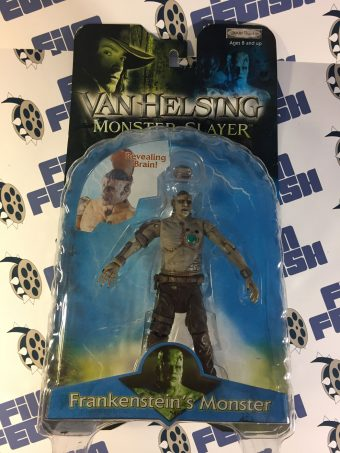 Van Helsing: Monster Slayer Series 1 Frankenstein's Monster with Revealing Brain Based on Shuler Hensley