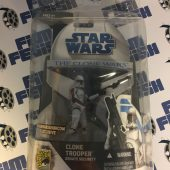 Star Wars The Clone Wars Clone Trooper Senate Security SDCC Exclusive Action Figure