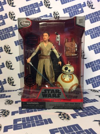 Star Wars: The Force Awakens Elite Series Rey and BB-8 Die Cast Metal Action Figure