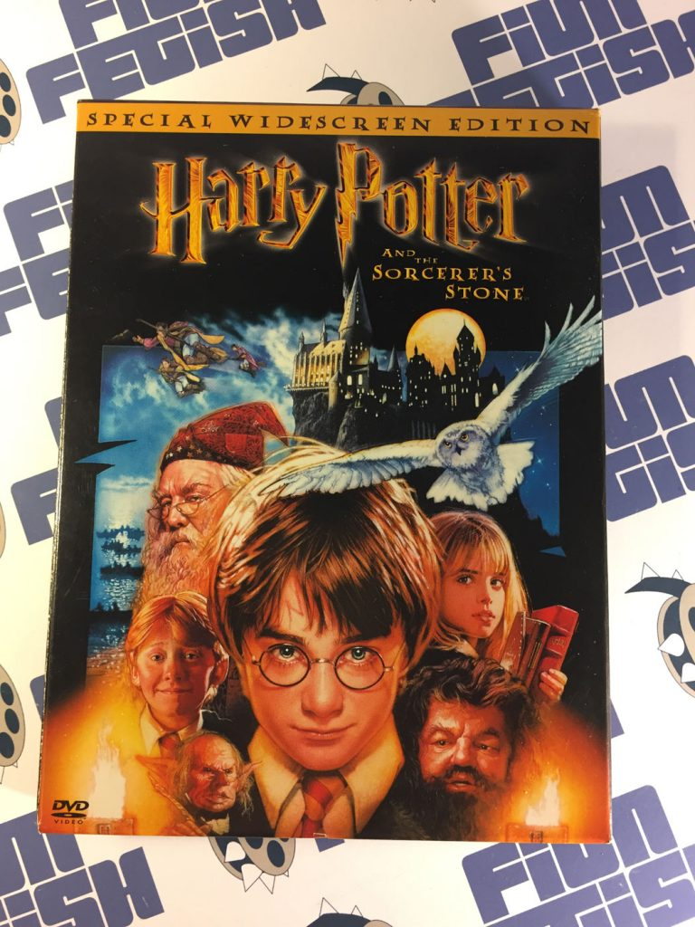Harry Potter and the Sorcerer's Stone 2-Disc DVD Special Widescreen Edition