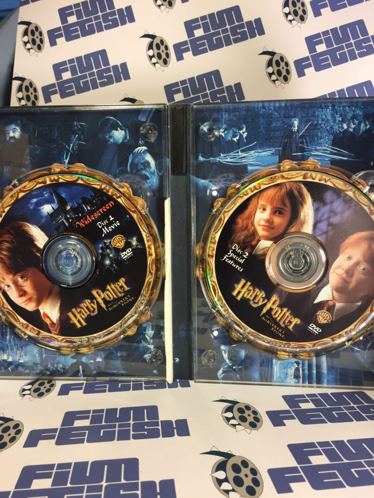 harry potter and the sorcerer s stone 2 disc dvd special widescreen edition film fetish. Black Bedroom Furniture Sets. Home Design Ideas