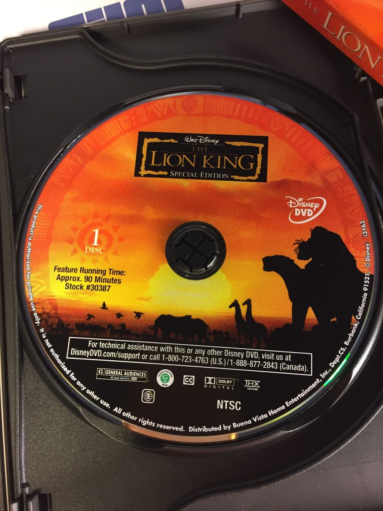 Confirm. join lion king platinum edition dvd