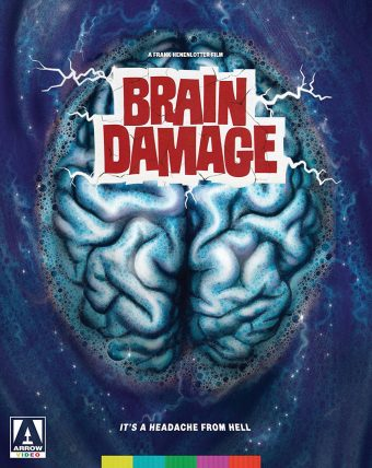 Frank Henenlotter's Brain Damage Blu-ray DVD Combo Special Arrow Video Edition