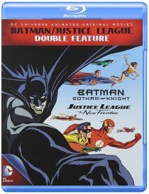 Batman / Justice League Double Feature – Justice League New Frontier + Batman Gotham Knight (Blu-ray)