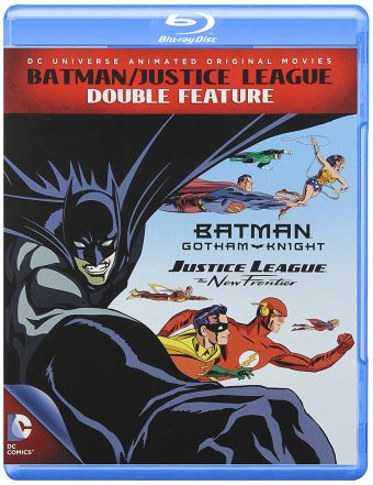 Batman / Justice League Double Feature – Justice League New Frontier + Batman Gotham Knight (Blu-ray)