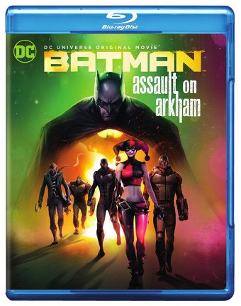 DC Universe Original Movie: Batman Assault on Arkham Featuring the Suicide Squad with Slipcover
