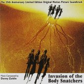 Invasion of the Body Snatchers 25th Anniversary Limited Edition Original Motion Picture Soundtrack