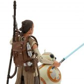 Star Wars: The Force Awakens Elite Series Rey and BB-8 Die Cast Metal Action Figure