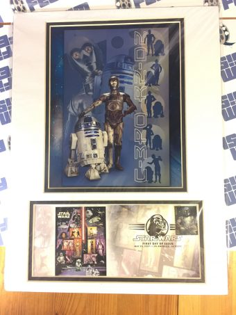 2007 Star Wars 30th Anniversary USPS FDOI First Day Issue C-3PO R2-D2 Stamp Cover