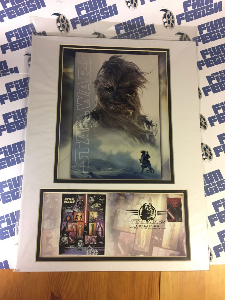 SEALED Star Wars 30th Anniversary Chewbacca USPS FDOI May 25, 2007 Los Angeles Cancellation