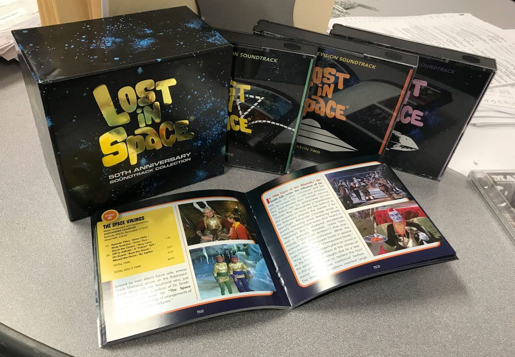 Lost In Space 50th Anniversary 12-CD + 104-Page Booklet Soundtrack Collection featuring music by John Williams and more