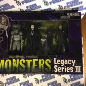 Universal Studios Monsters Legacy Series III 3 Figure Set: Invisible Man, Phantom of the Opera and Metaluna Mutant