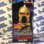 Bif Bang Pow Convention Exclusive 35th Anniversary Battlestar Galactica Cylon Commander Bobble Head