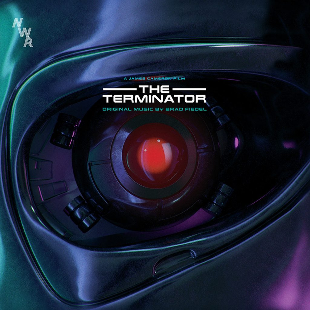 The Terminator Original Motion Picture Soundtrack by Brad Fiedel, 2-LP 180 Gram, Colored Vinyl