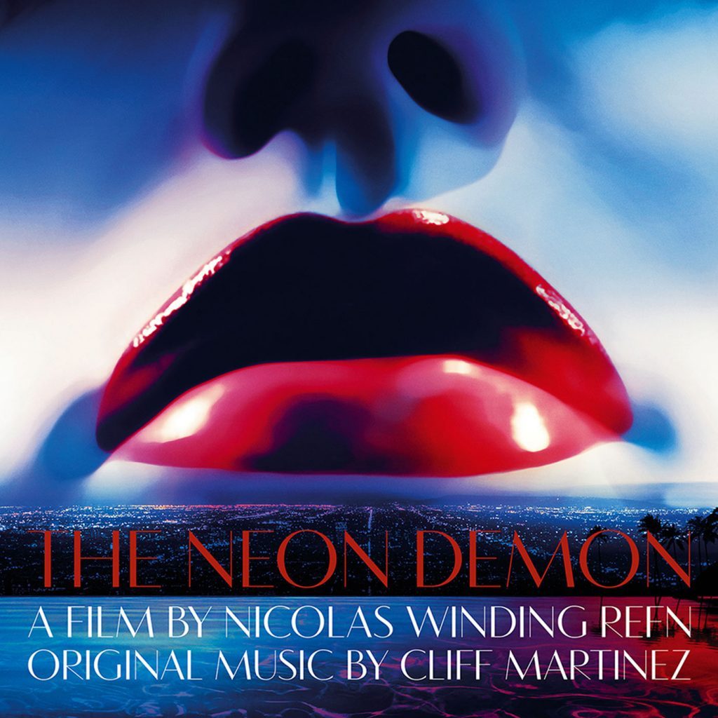 The Neon Demon Original Motion Picture Soundtrack-2-LP Set, Blue/Green Vinyl, Includes Download Card