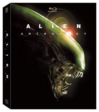 Alien Anthology 6-Disc Blu-ray Set – Alien, Aliens, Alien 3 & Alien Resurrection